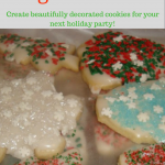 Easy icing, pretty cookies, all you need to create gorgeous Christmas cookies right here!