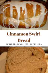 Homemade Cinnamon Swirl Bread is amazing! Your family will thank you!