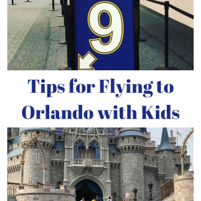 Tips for Flying to Orlando with Kids