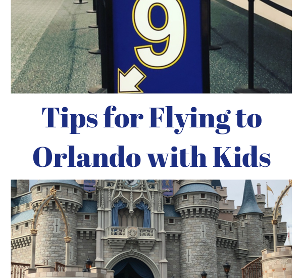 Flying to Orlando with kids can be fun if you do a little work ahead of time! #disneytravel #travelwithkids #disneyworld #flyingwithkids