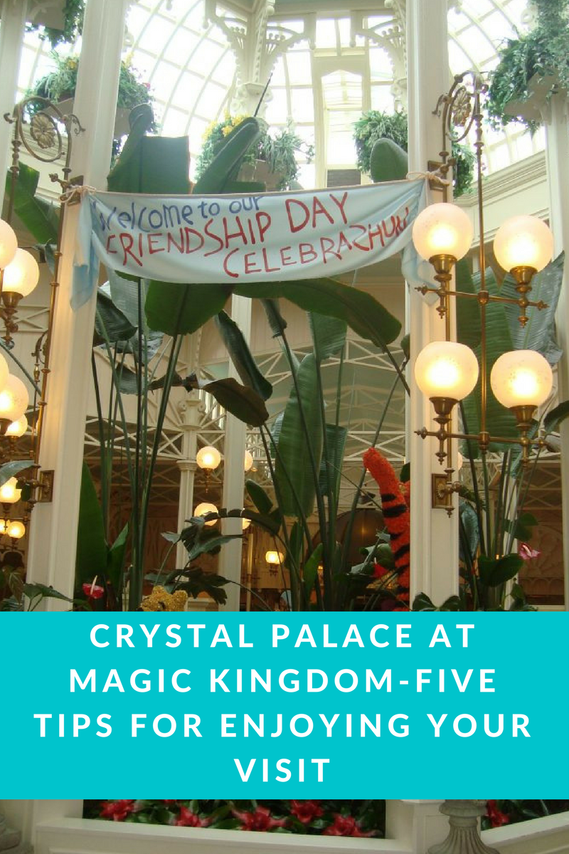 Crystal Palace at Magic Kingdom-Five Tips for Enjoying Your Visit
