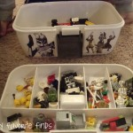 Storing Random LEGO Pieces