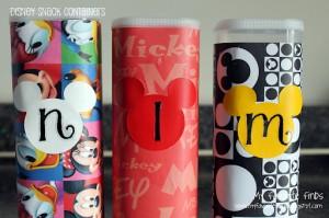 {FAVORITE} Disney Tip:  Snack Containers