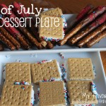 {Fourth of July Dessert Plate}