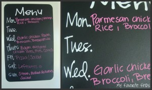 How Menu Planning Makes Me a Better Mom