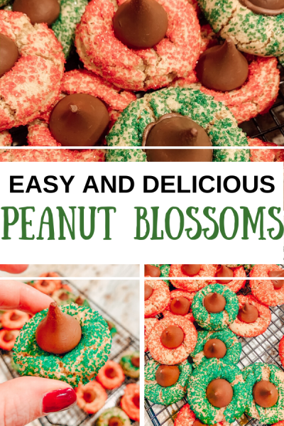 Peanut Blossoms are perfect for any holiday! Soft, chewy, and so easy to make!