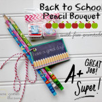 Back to School Pencil Bouquet (with Free Printable)