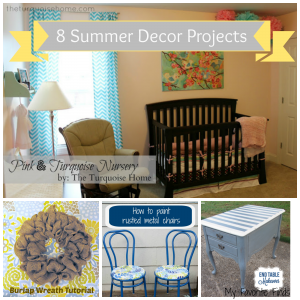 8 Summer Decor Projects