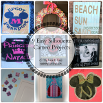 9 Easy Silhouette Cameo Projects