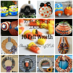 10 Pumpkin Decor & 10 Fall Wreath Ideas to Inspire You