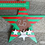 Chalkboard Advent to Christmas Star with Deco Art Multisurface Paints