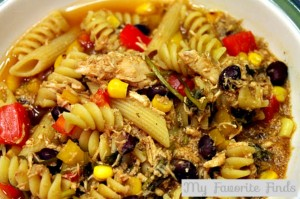 BBQ Chicken Noodle Soup