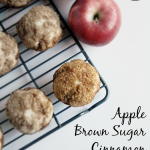 Apple Brown Sugar Cinnamon Muffins | myfavefinds.com | #breakfast #contributor