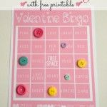 Valentine Bingo with Free Printable