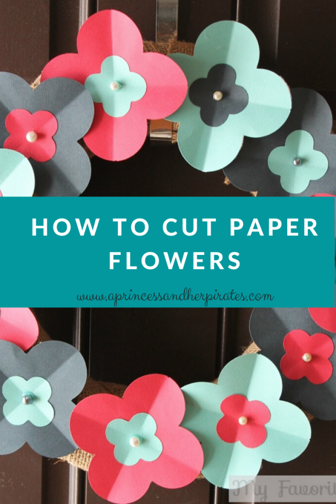 How to Cut Paper Flowers