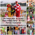 Mickey's Not So Scary Halloween Party-10 Fun Family Costume Ideas