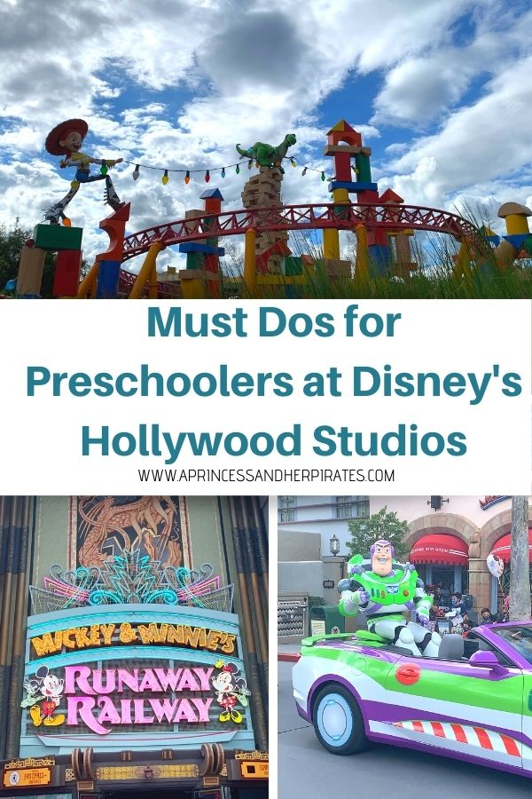 Must Dos for Preschoolers at Disney's Hollywood Studios