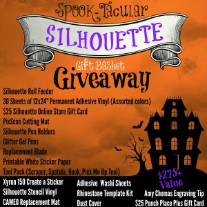 SPOOK-tacular Silhouette Gift Basket Giveaway