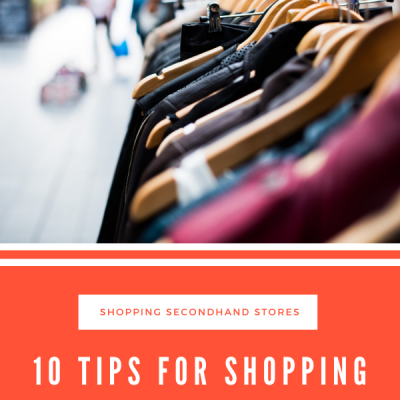 Tips for Shopping Secondhand