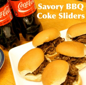 Savory BBQ Coke Sliders and Ritz Peanut Butter Chocolate Snackers
