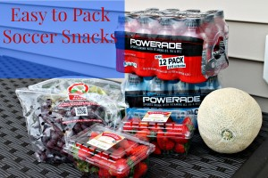 Easy to Pack Soccer Snacks