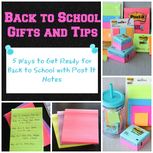 Back to School Gifts and Tips