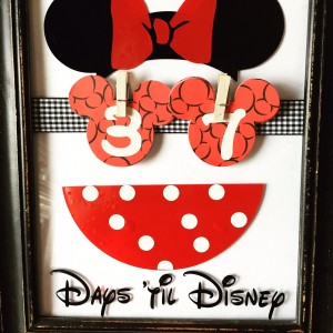 Classic Disney Vacation Countdown
