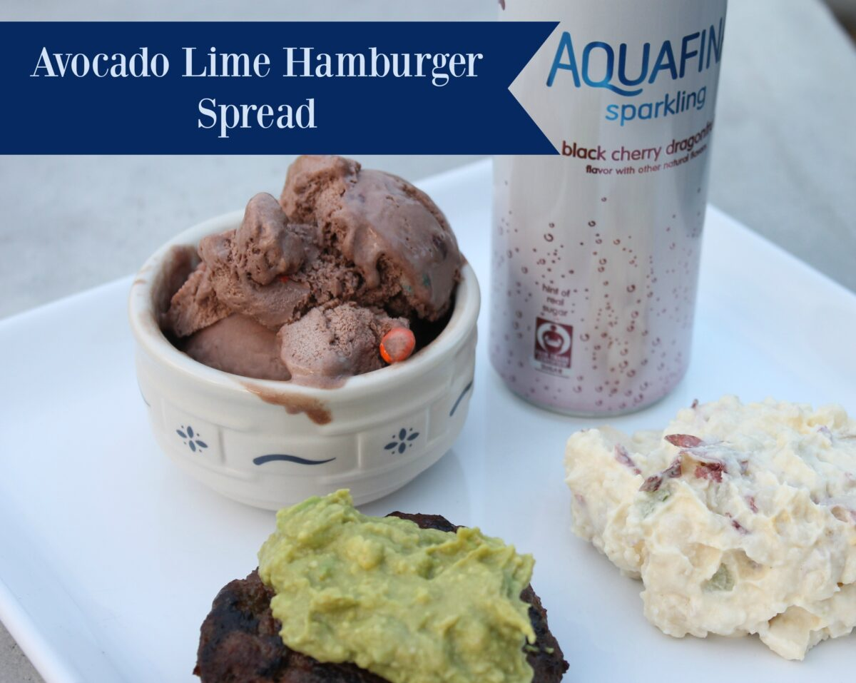 Avocado Lime Hamburger Spread