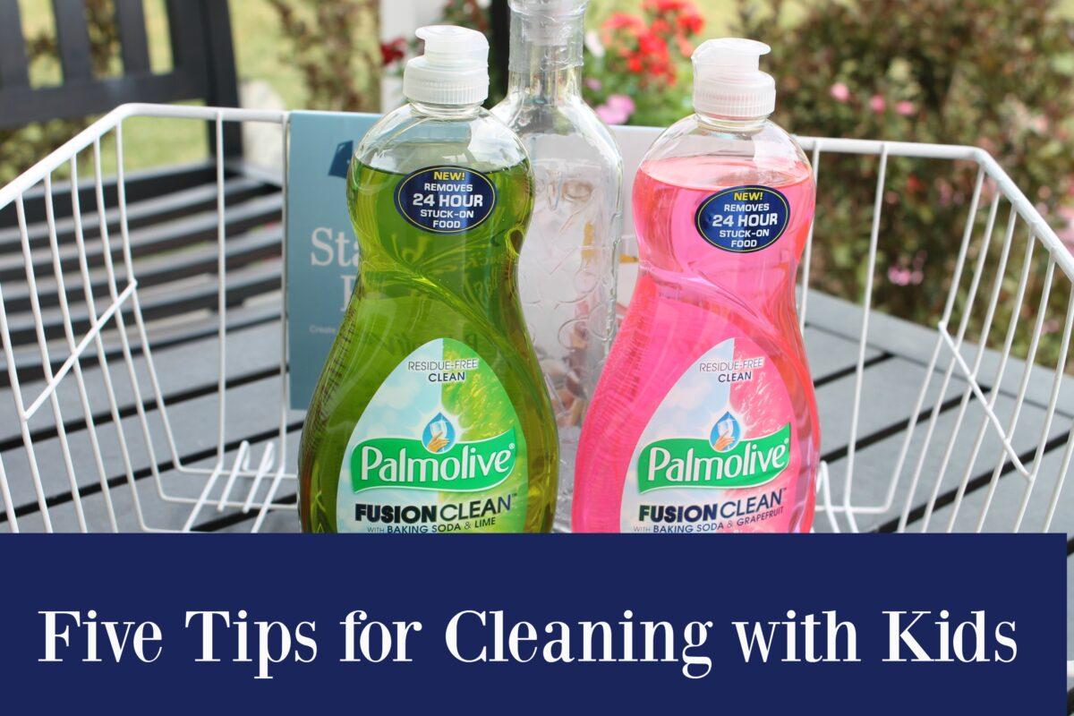 5 Tips for Cleaning with Kids