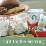 DIY Fall Coffee Serving Tray
