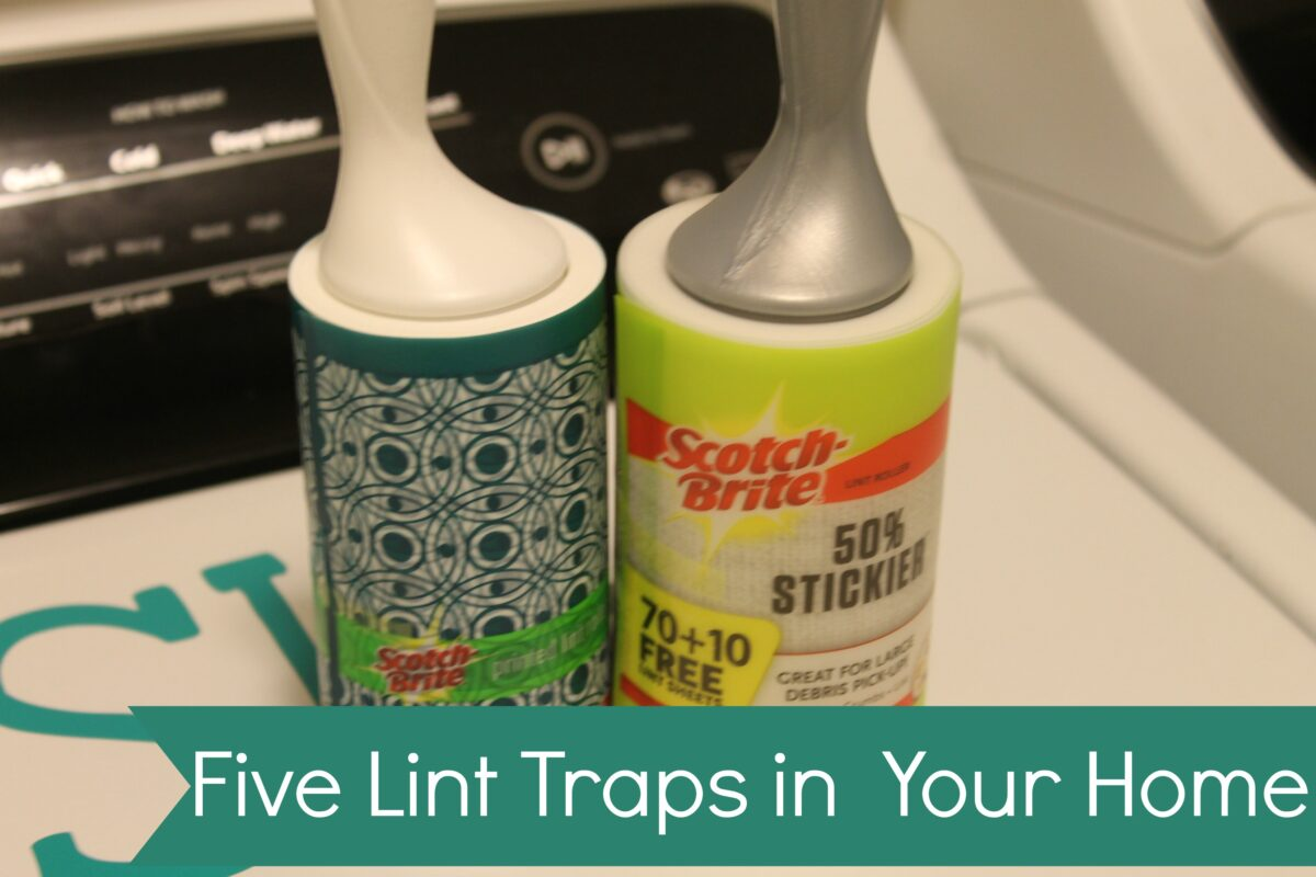 Five Lint Traps in Your Home