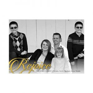 Photo Christmas Cards from Shutterfly
