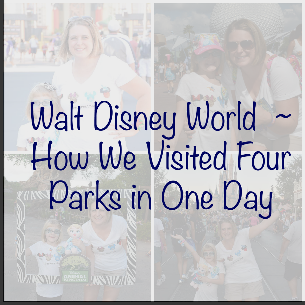 Four Disney Parks in one Day
