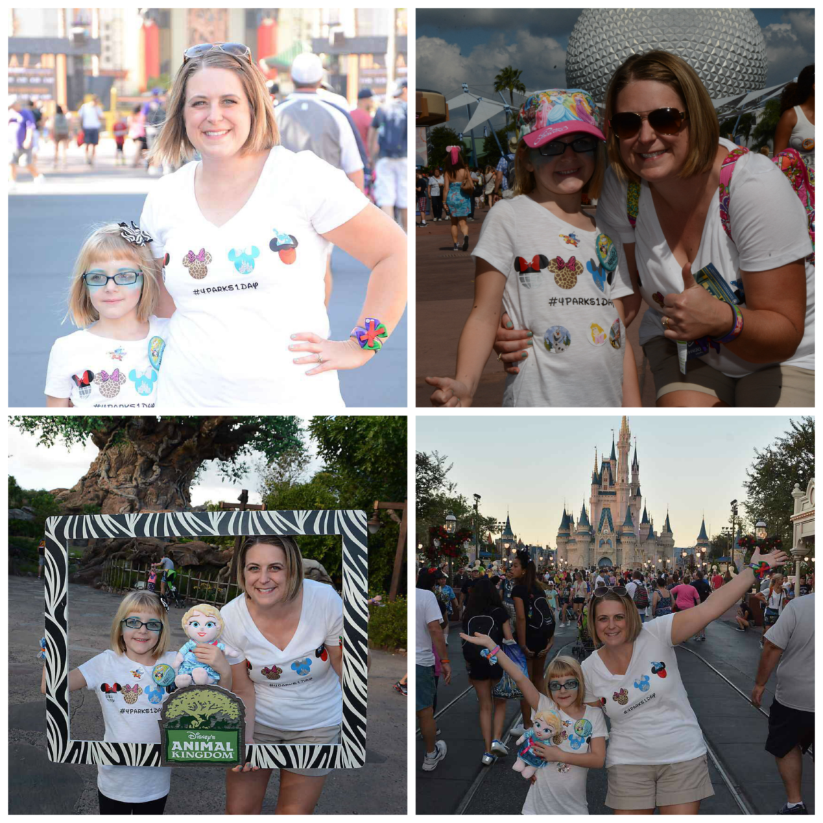 Visiting 4 Disney Parks in One Day~Can it Be Done?