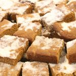 Gingerbread Cake Bars