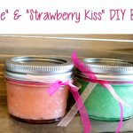 "DIY ""Mint to Be"" and ""Strawberry Kiss"" Body Scrubs"