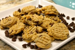 Decadent Peanut Butter & Chocolate Chip Cookies