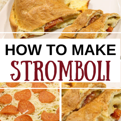How to Make Stromboli