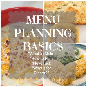 Five Simple Menu Planning Tips That Work for Me