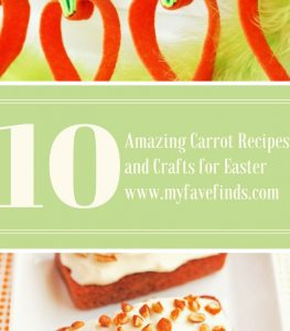 10 Amazing Carrot Recipes and Crafts for Easter