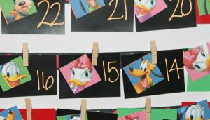 DIY Disney Paint Chip Countdown