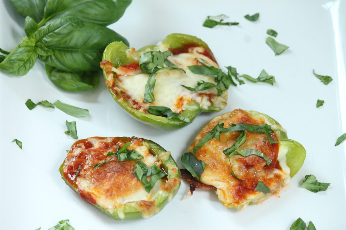 Pizza Stuffed Green Peppers