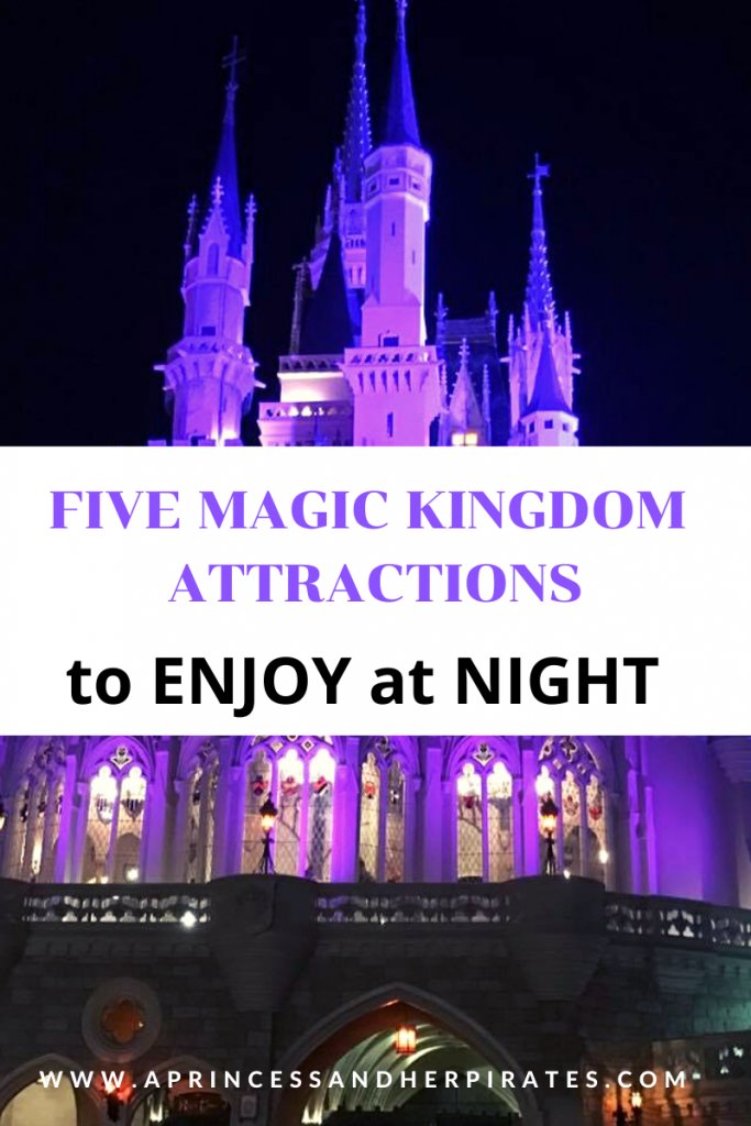 Top 5 Magic Kingdom Attractions to Enjoy at Night
