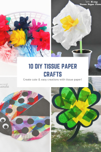 10 Tissue Paper Crafts