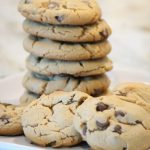 Sensational Peanut Butter and Milk Chocolate Chip Cookies