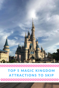 Five Attractions to Skip at Magic Kingdom