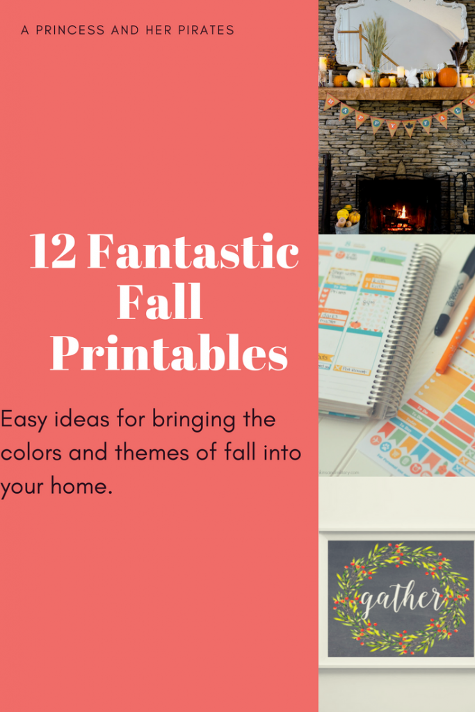 12 Fantastic Fall Printables