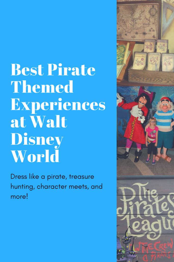 Best Pirate Themed Experiences at Walt Disney World