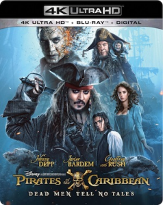 Pirates of the Caribbean: Dead Men Tell No Tales 4K, Blu Ray, and DVD Available