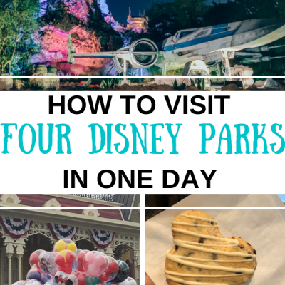 How to Visit Four Walt Disney World Parks in One Day